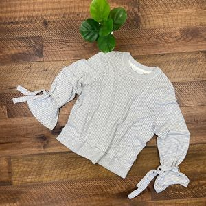ABERCROMBIE & FITCH Bell Sleeve Striped